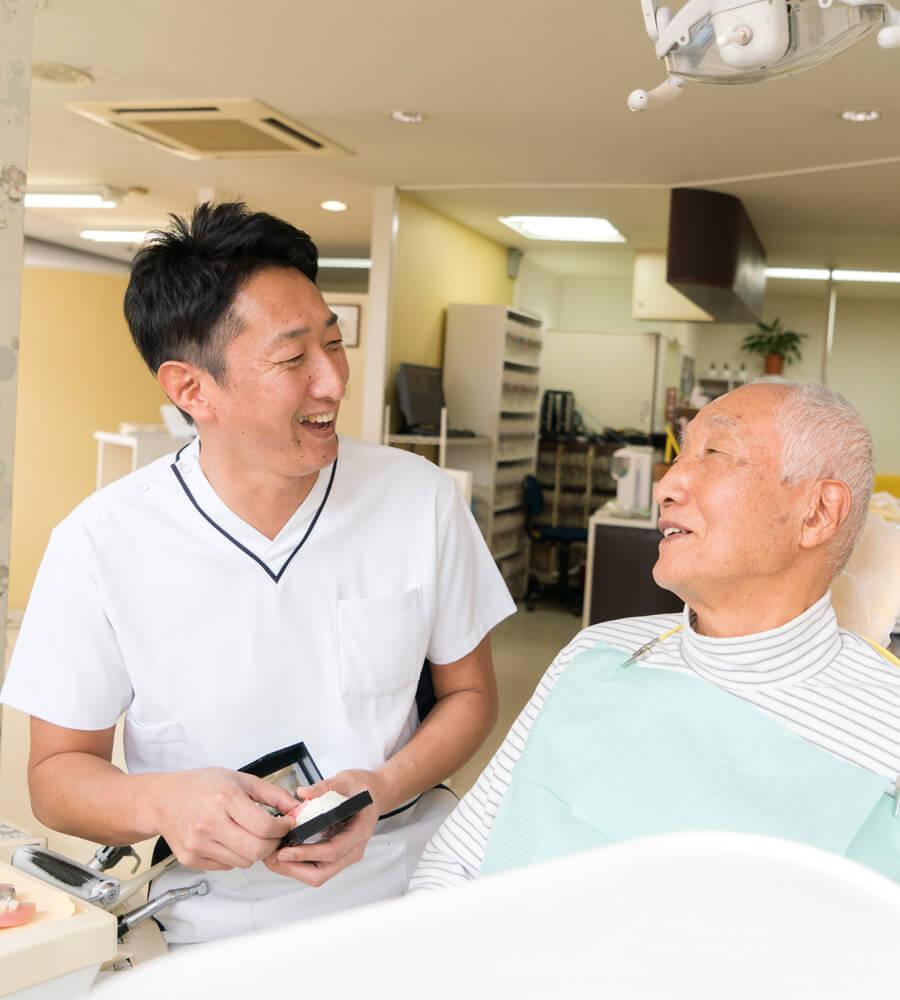 ご自身の歯を残す治療を目指します